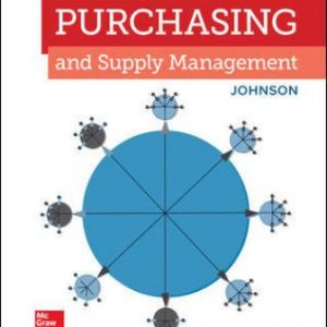 Solution Manual for Purchasing and Supply Management 16/E Johnson