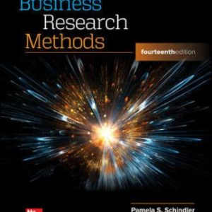 Test Bank for Business Research Methods 14/E Schindler