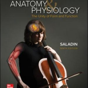 Solution Manual for Anatomy and Physiology: The Unity of Form and Function 9/E Saladin