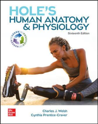Test Bank for Hole's Human Anatomy & Physiology 16/E Welsh