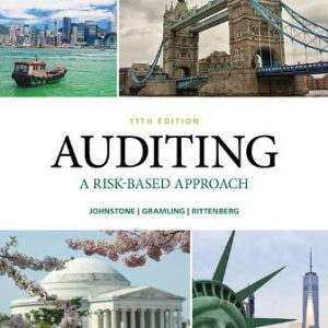 Solution Manual for Auditing: A Risk Based-Approach 11/E Johnstone-Zehms