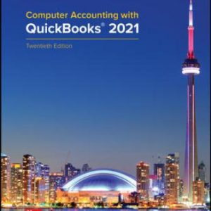 Test Bank for Computer Accounting with QuickBooks® 2021 20/E Kay