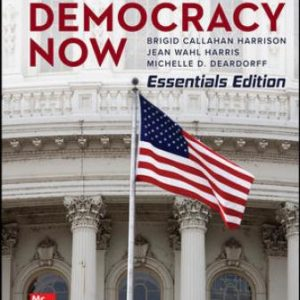 Test Bank for American Democracy Now Essentials 7/E Harrison