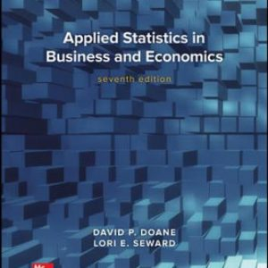 Solution Manual for Applied Statistics in Business and Economics 7/E Doane