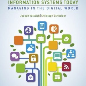 Test Bank for Information Systems Today 8/E Valacich