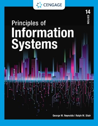 Test Bank for Principles of Information Systems 14/E Stair