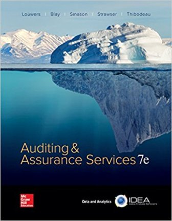 Solution Manual for Auditing & Assurance Services 7/E Timothy Louwers