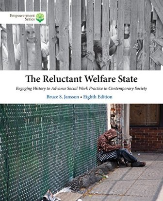 Test Bank for The Reluctant Welfare State 8/E Jansson